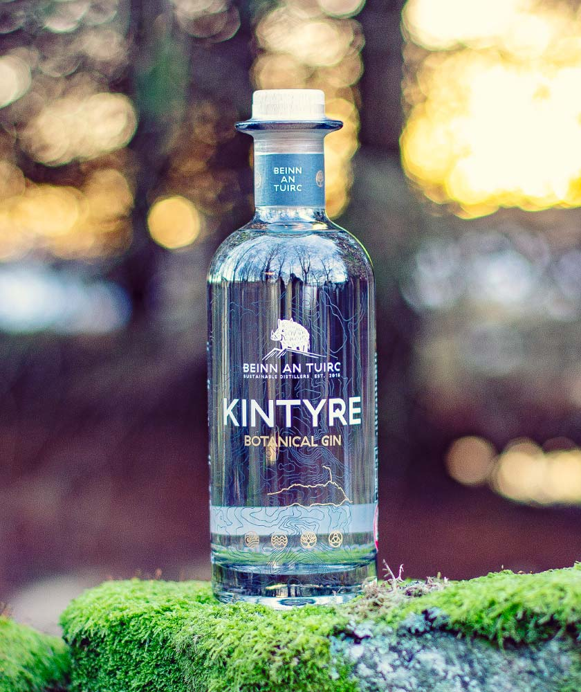 Kintyre Botanical Gin Bottle