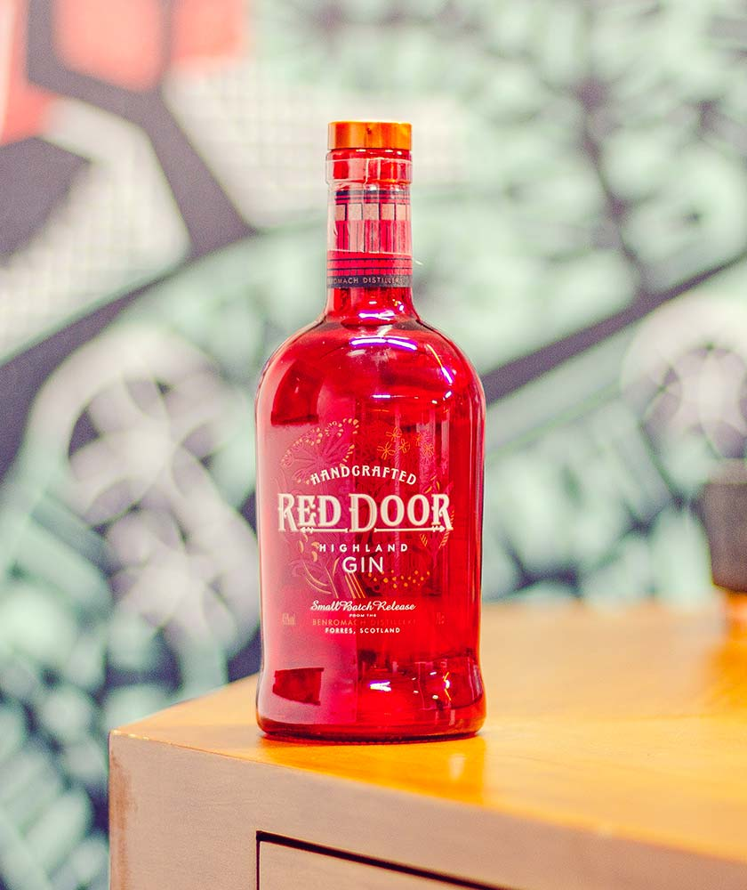 Red Door Gin Bottle