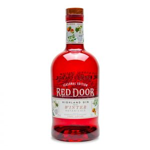 Red Door Winter Botanicals Gin Bottle