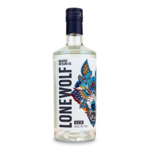 LoneWolf Gin Bottle