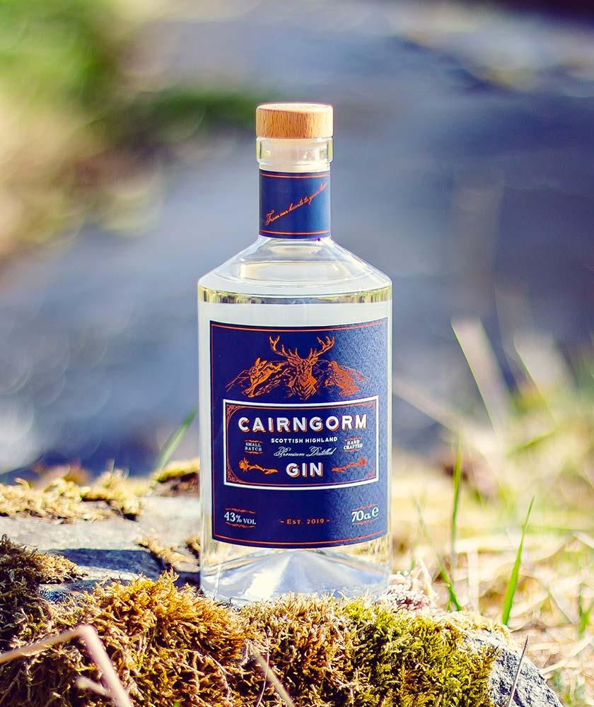 Cairngorm Gin Bottle