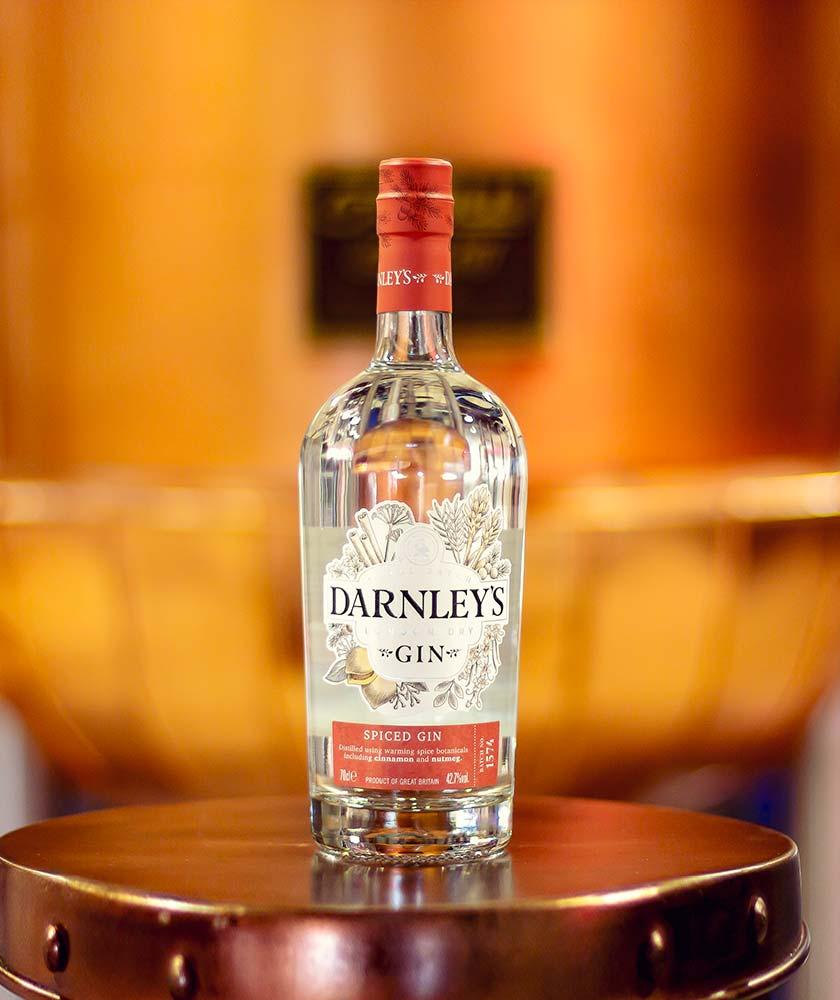 Darnley's Spiced Gin Bottle