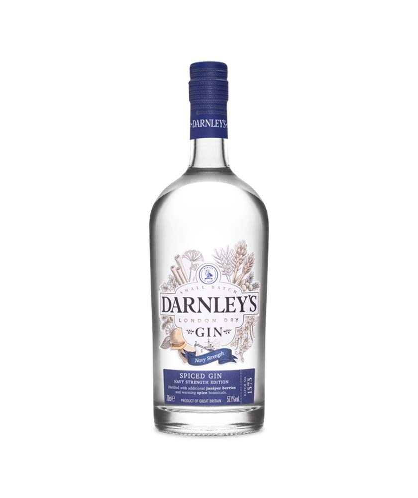 Darnley's Spiced Navy Strength Gin Bottle