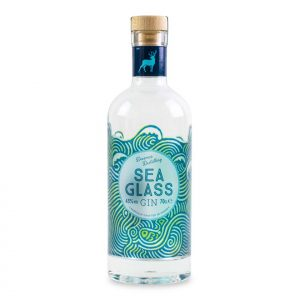 Sea Glass Gin Bottle