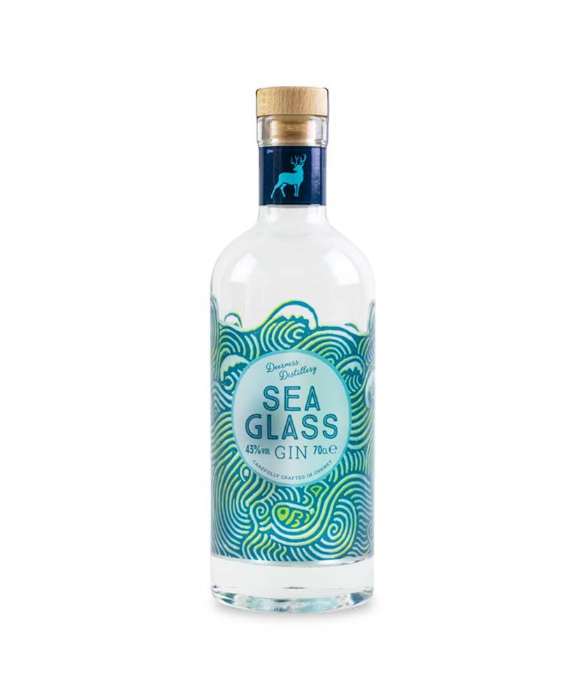 Sea Glass Gin Bottle