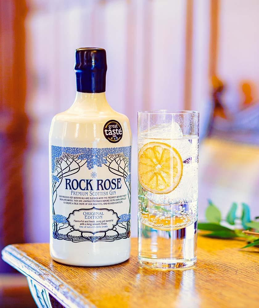 Rock Rose Original Gin Bottle