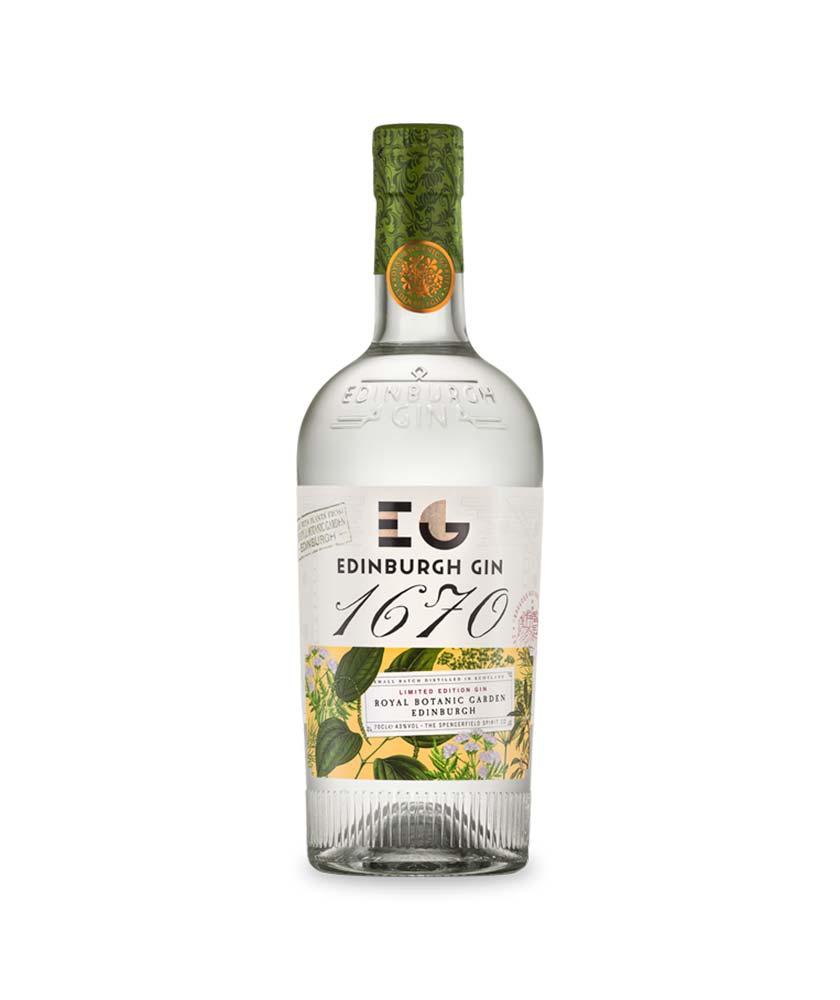 Edinburgh 1670 Gin Bottle