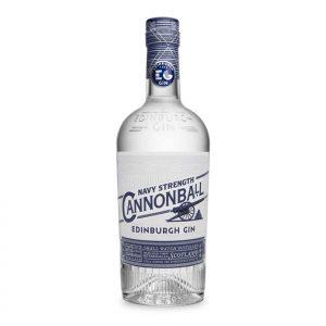 Edinburgh Cannonball Gin Bottle