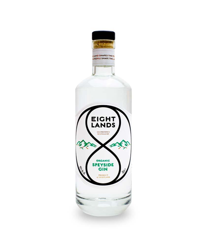 Eight Lands Gin Bottle
