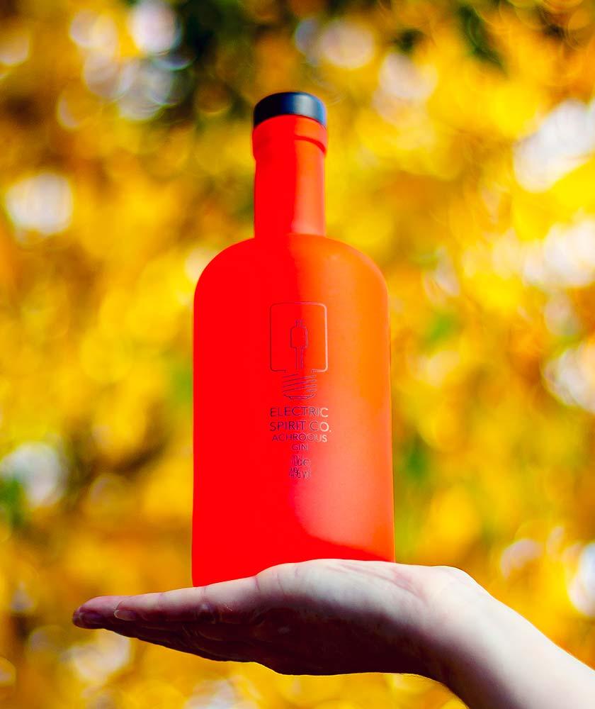 Achroous Gin Bottle