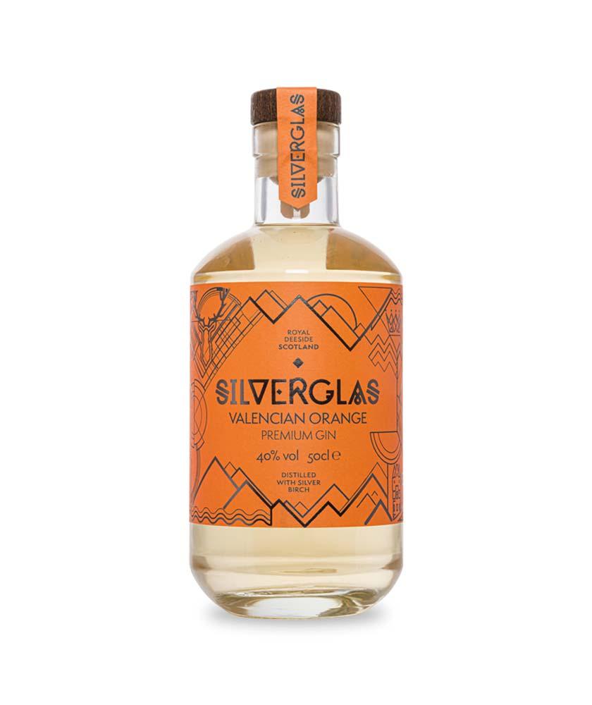 Esker Silverglas Valencian Orange Gin Bottle