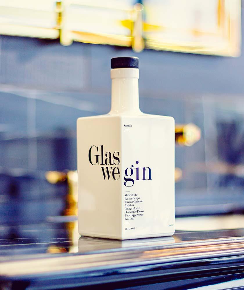 Glaswegin Gin Bottle