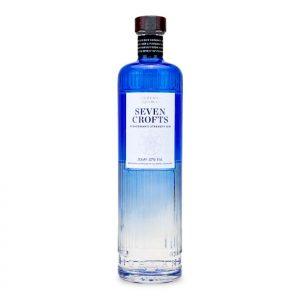 Seven Crofts Fisherman's Strength Gin Bottle