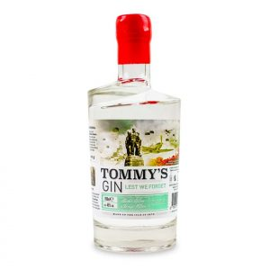 Tommy's Gin Bottle