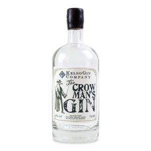 Kelso Crow Man's Gin Bottle
