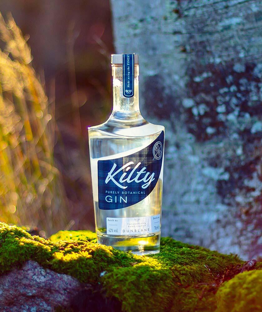 Kilty Gin Bottle