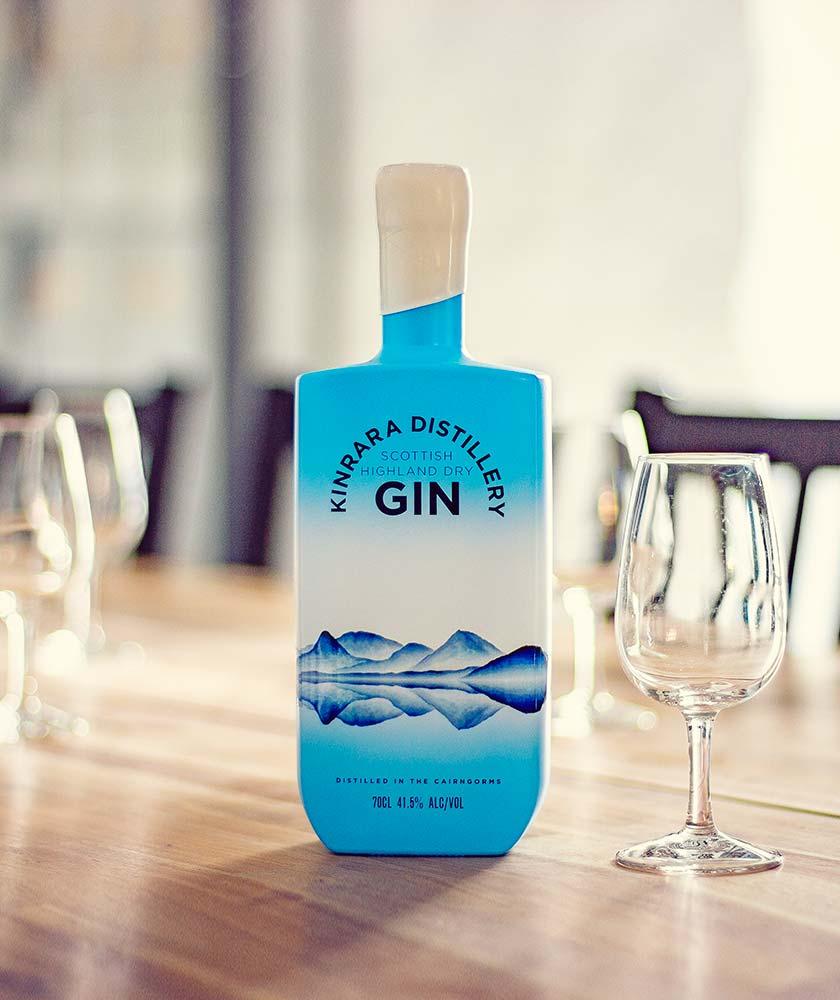 Kinrara Distillery Scottish Highland Dry Gin Bottle