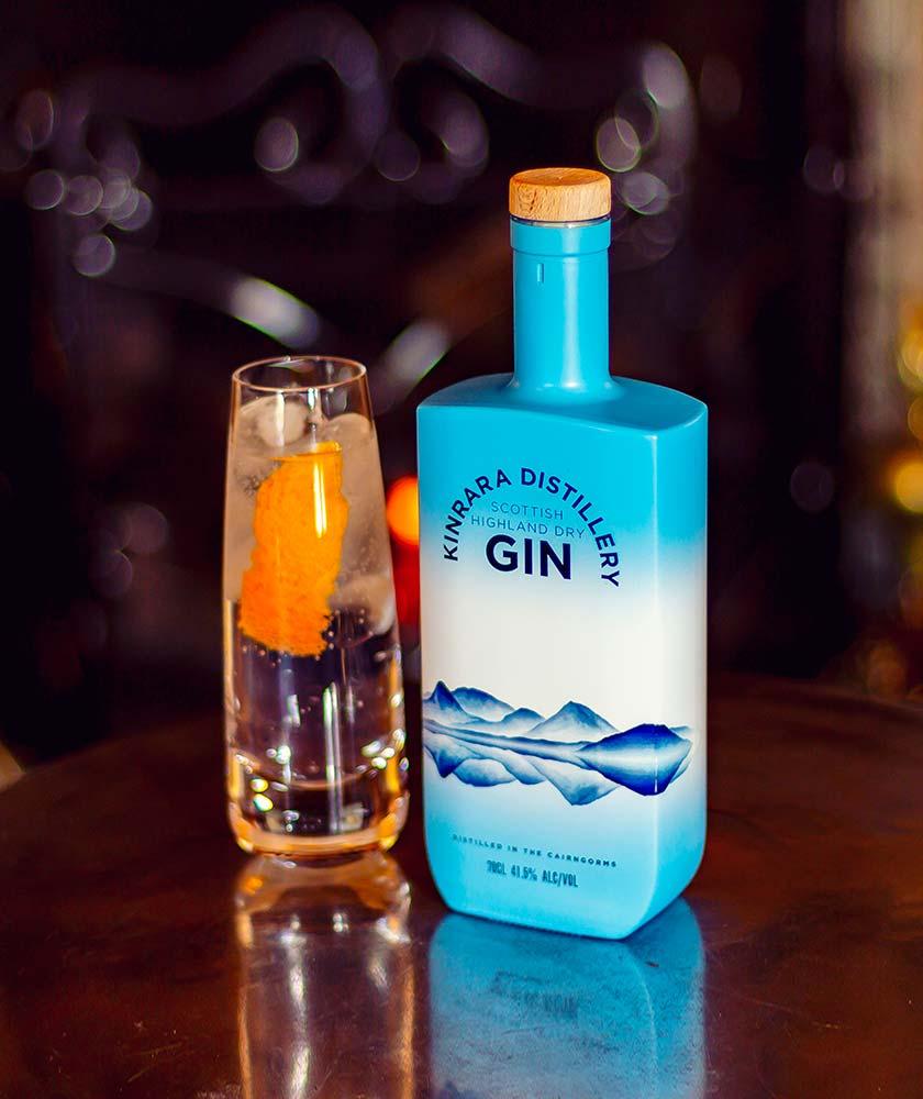 Kinrara Scottish Highland Dry Gin Bottle