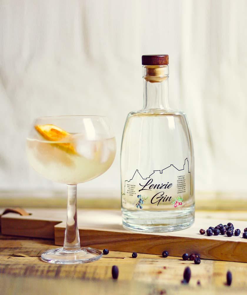 Lenzie Gin Bottle