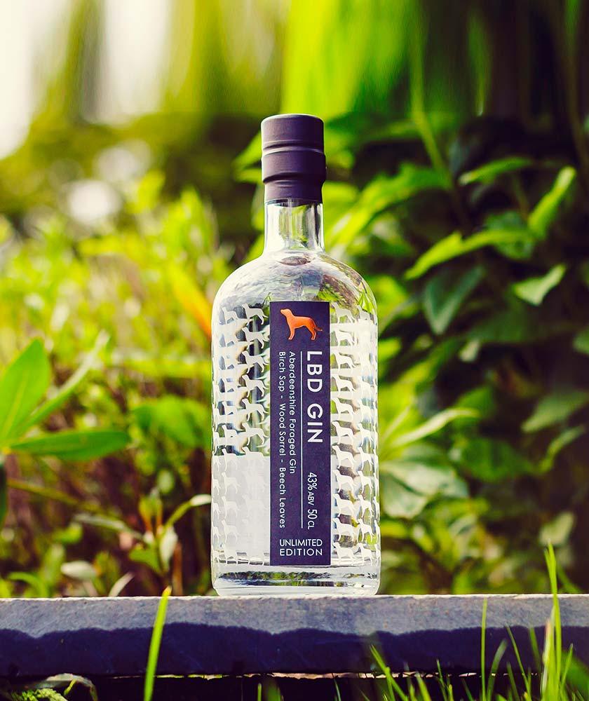 LBD GIn Bottle