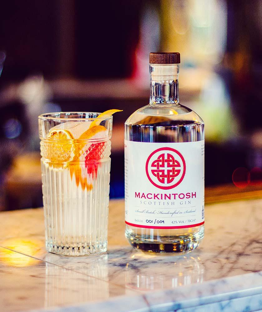 Mackintosh Gin Bottle
