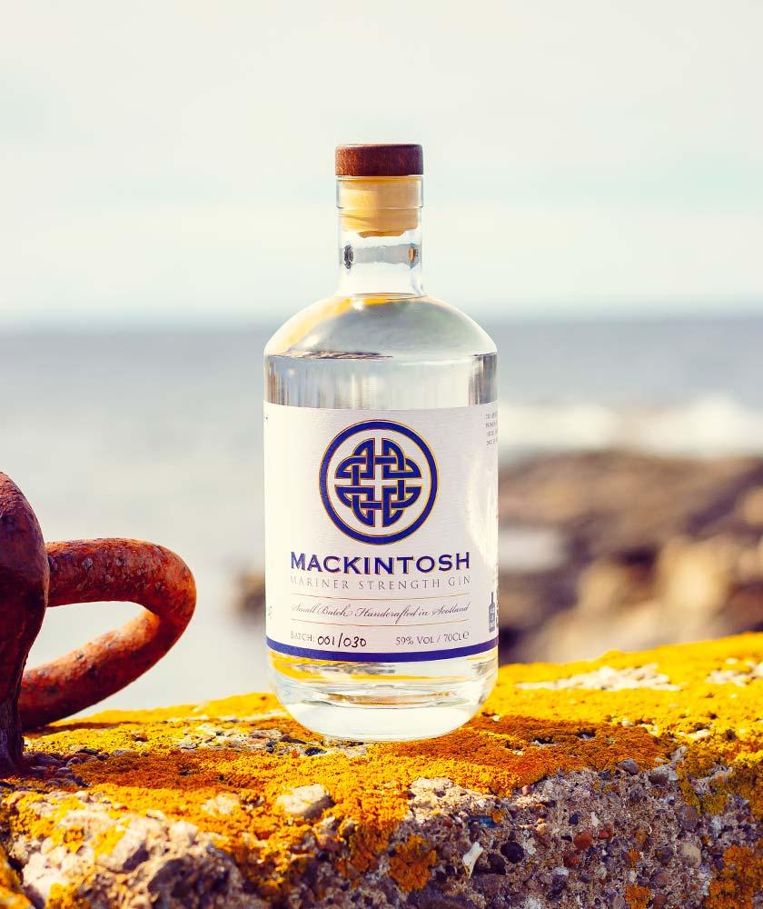 Mackintosh Mariner Strength Gin Bottle