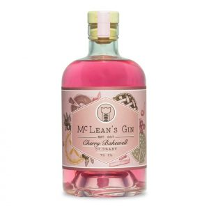 McLean's Cherry Bakewell Gin Bottle