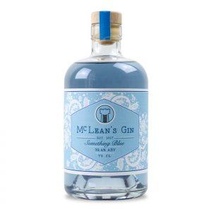 McLean's Something Blue Gin Bottle