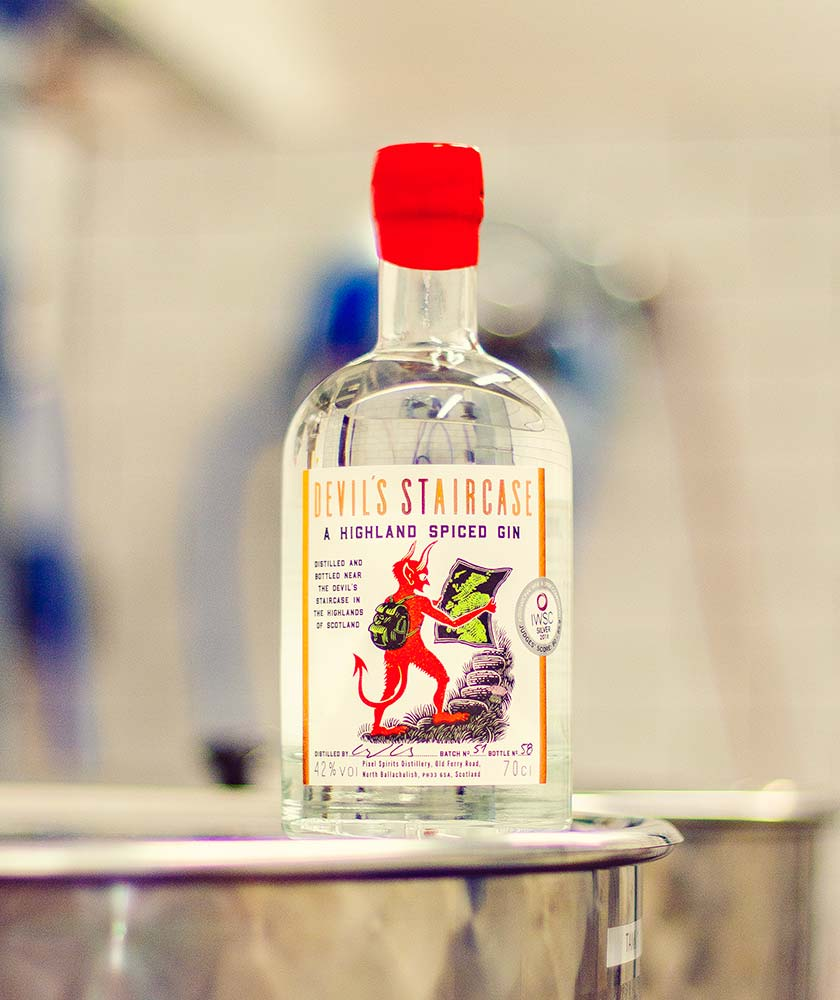 Devil's Staircase Gin Bottle
