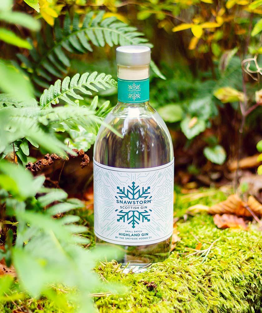 Snawstorm Scottish Gin Bottle