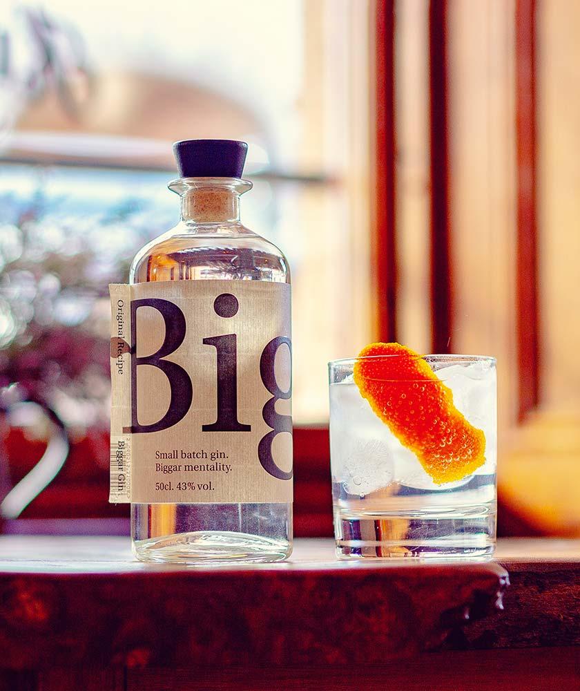 Biggar Gin Bottle