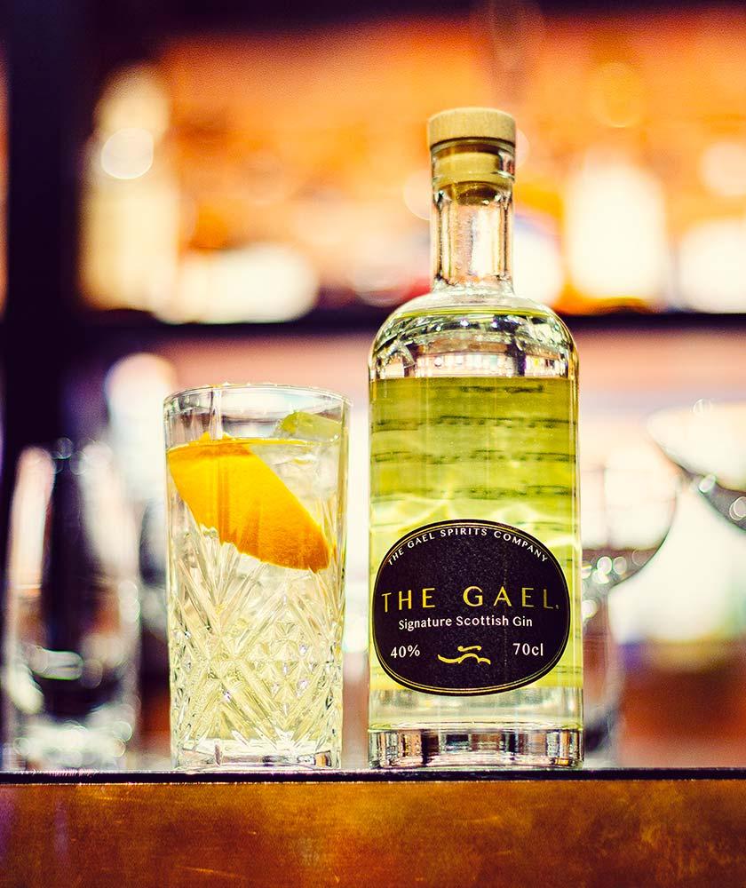 The Gael Signature Scottish Gin Bottle