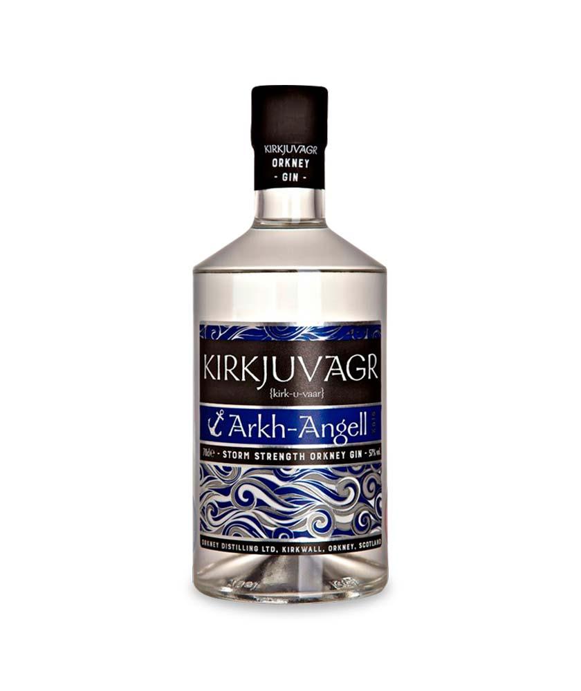 Kirkjuvagr Arkh Angell Gin Bottle