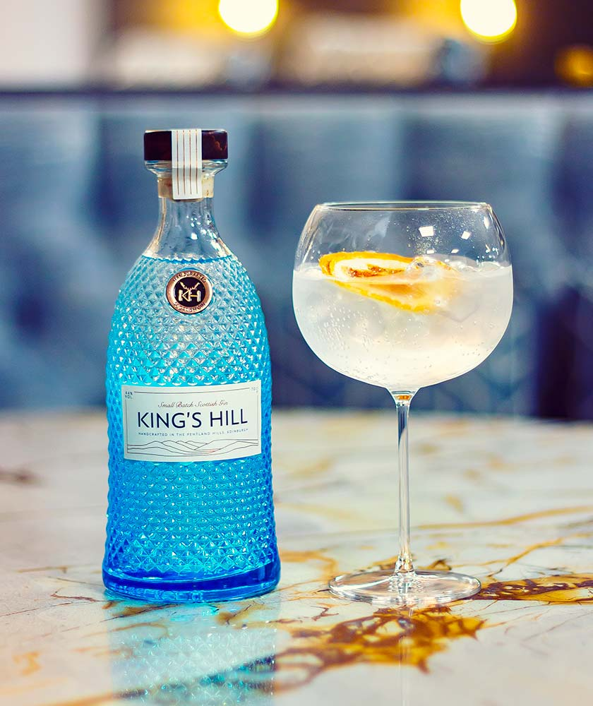 King's Hill Gin Bottle