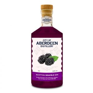 City of Aberdeen Distillery Bramble Gin Bottle