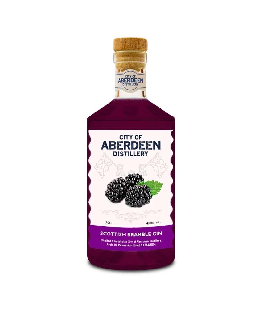 City of Aberdeen Distillery Bramble Gin Bottle