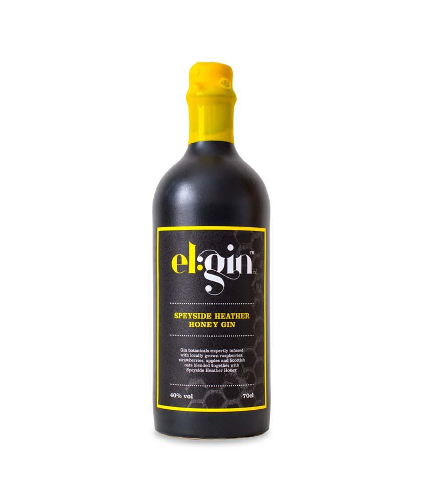 Elgin Speyside Heather Honey Gin Bottle