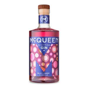 McQueen Black Cherry & Vanilla Gin Bottle