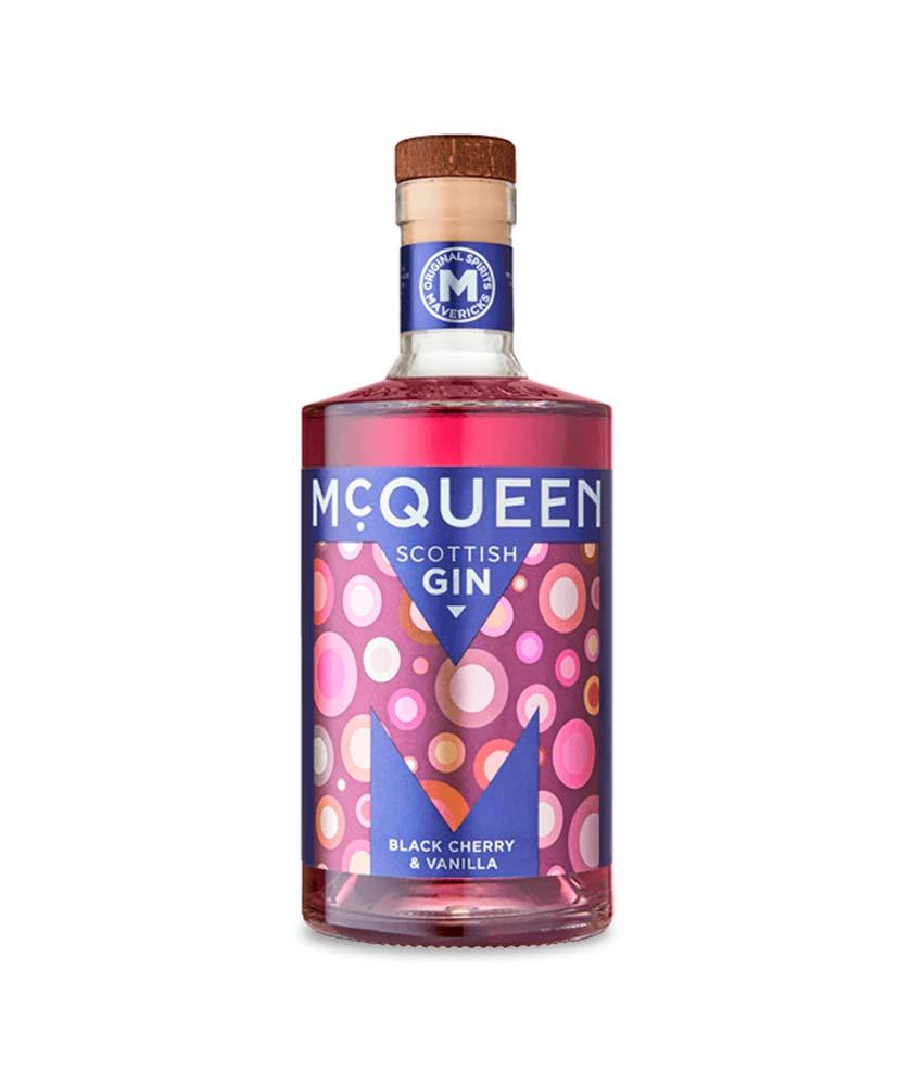 McQueen Black Cherry & Vanilla Gin Bottle