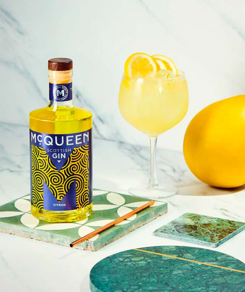 McQueen Citron Gin Bottle