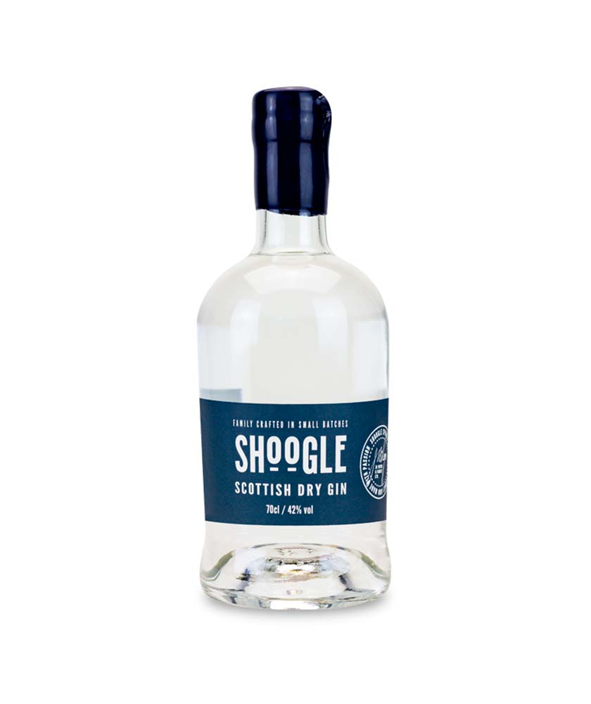Shoogle Scottish Dry Gin Bottle