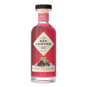 Ben Lomond Raspberry & Elderflower Gin Bottle