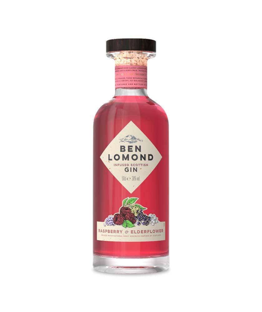 Ben Lomond Raspberry & Elderflower Gin Bottle