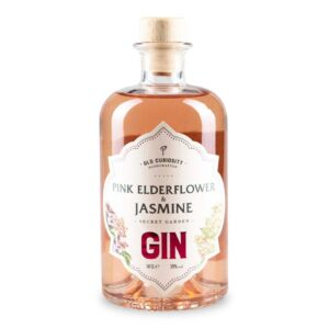 Old Curiosity Pink Elderflower & Jasmine Gin Bottle