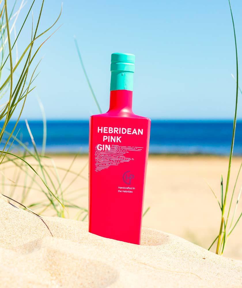 Tyree Hebridean Pink Gin Bottle