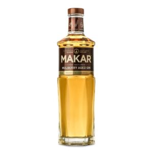 Makar Mulberry Aged Gin Bottle