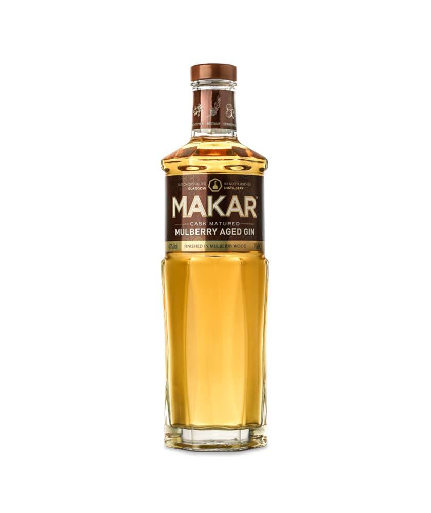 Makar Mulberry Aged Gin Bottle